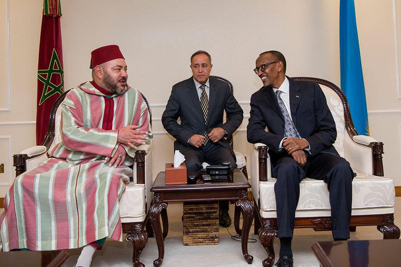 King Mohammed VI of Morocco arrived to Rwanda