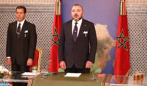 The King Mohammed VI  Delivered a Strategic  Speech From Dakar