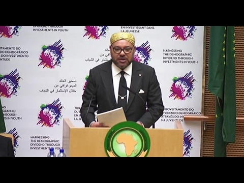 King  Mohammed VI states : Africa is the future. And the future starts today